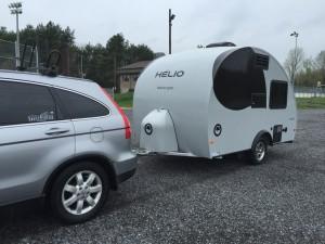 Honda CRV avec HELIO O2
