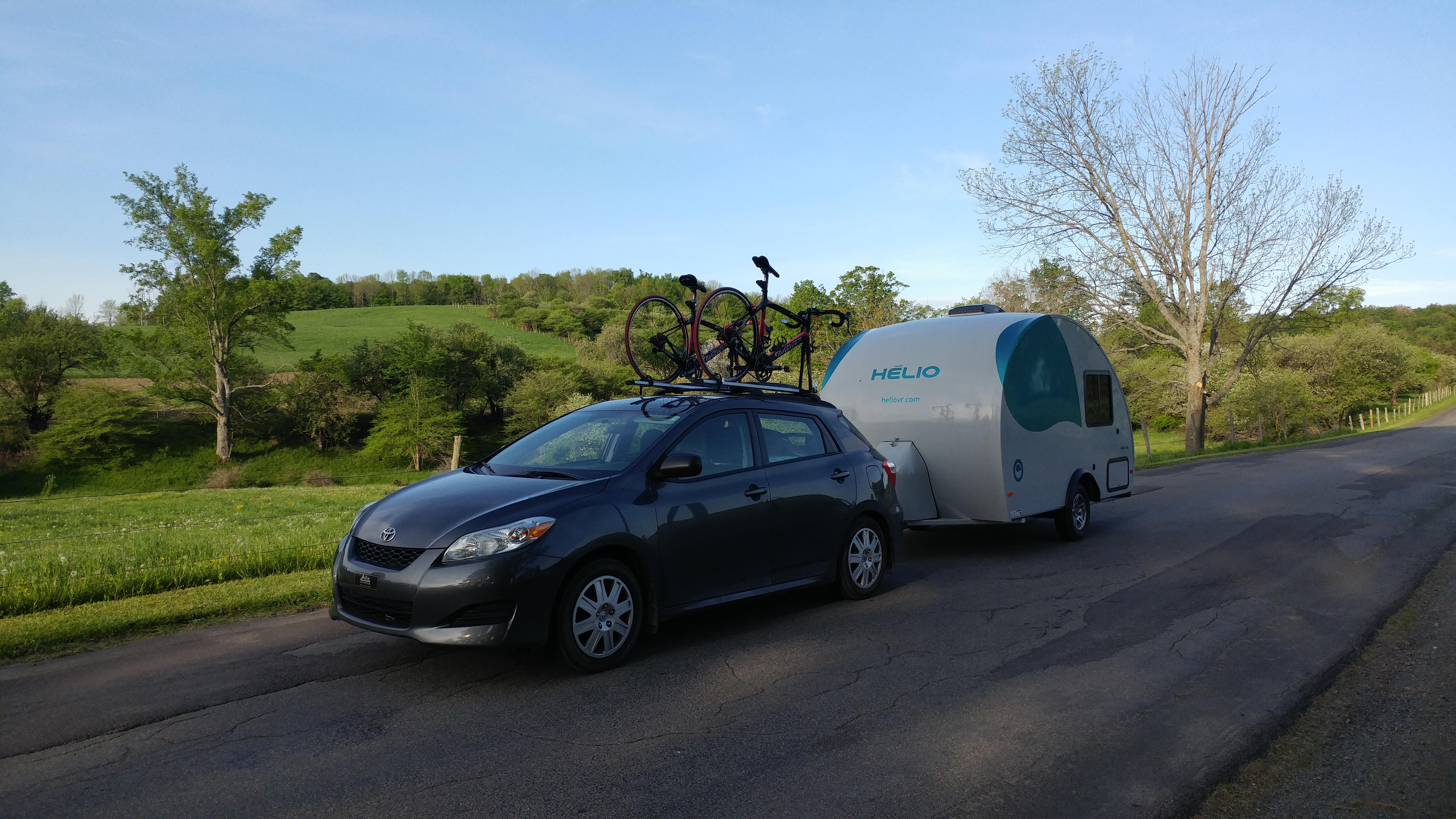 Helio Ultralight Trailers And Mini Travel Trailers H 233 Lio