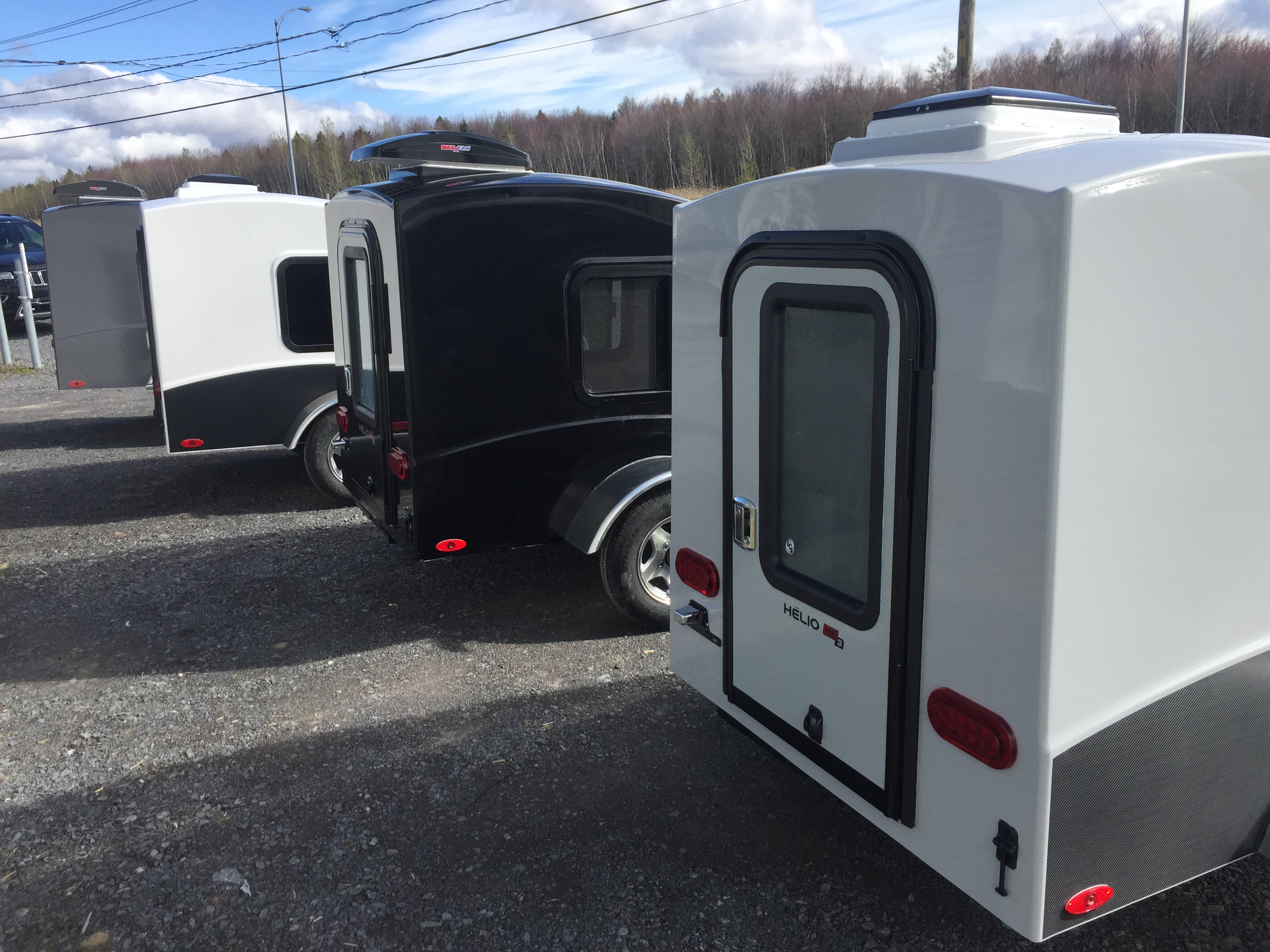 HE3 Series Micro Travel Trailer | HELIO RV Hélio