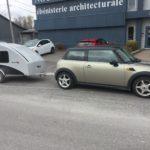 HE3C avec sa Mini Cooper