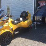 HE3S Noir/Black - CamAM Spyder RT + Panneau solaire (Solar panel) 100W flexible
