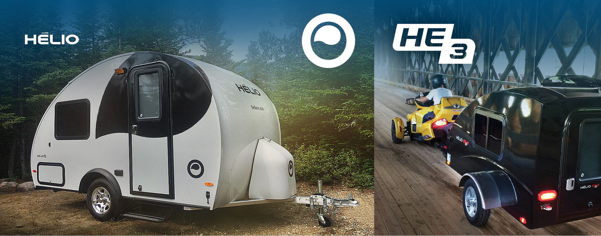 Helio - Ultralight Trailers and Mini Travel Trailers Hélio